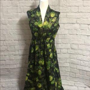 Vintage 70s metallic beautiful dress
